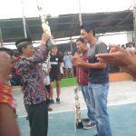Gaja Lumpuhkan Payba Pada Semi Open Voly Ball di Delung