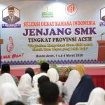 Puluhan Pelajar SMK Ikuti Lomba Debat Bahasa Indonesia se Aceh