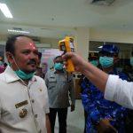 Siaga Covid-19, Bupati Aceh Besar Tinjau Kesiapan Bandara SIM