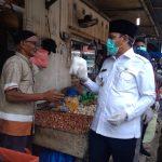 Pastikan Harga Barang, Bupati Mawardi Ali Pantau Pasar Lambaro