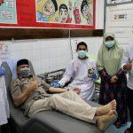 Imbas Corona Persediaan Darah Menipis, Plt Gubernur Aceh Ajak Donor Darah