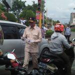 Aksi Peduli Gerindra Aceh Bagikan Masker dan Penyemprotan Disinfektan