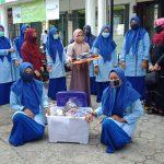 Siswa SMKN 3 Banda Aceh Produksi Ribuan Masker