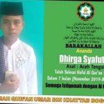 Hanya 7 Bulan, Santri Asal Aceh Tengah Hafal 30 Juz