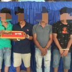 Satres Narkoba Polres Abdya Tangkap Enam Kurir Ganja