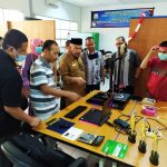 Pelajar SMKN 2 Banda Aceh Ciptakan Face Shield Mask