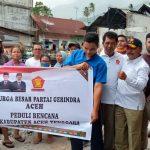DPD-Gerindra Aceh Bantu Korban Kebakaran di Lawe Desky Sabas