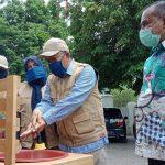 Disdik Aceh Fasilitasi SMK Negeri 2 Karang Baru Ciptakan Pencuci Tangan Otomatis dan Bilik Disinfektan Hemat Energi
