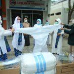 BKMT Aceh Serahkan Bantuan APD untuk IDI