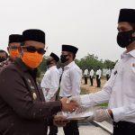 Bupati Aceh Jaya Cek Identitas 253 CPNS yang Dilantik Jadi PNS