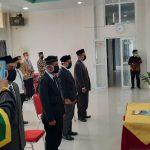 Dokter Ismuha Resmi Jabat Direktur RSUDTP Abdya