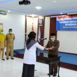 Kepala Perwakilan BKKBN Aceh Lantik Lima Pejabat Pengawas