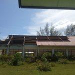 Bekas Gedung SMK di Abdya Memperihatinkan