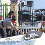 Polres Abdya Ziarahi Makam Pahlawan Tengku Peukan