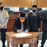 DPRK Aceh Jaya Gelar  Paripurna LKPJ Tahun 2019