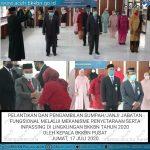 12 Pejabat Administrator BKKBN Aceh Dilantik Jadi Fungsional