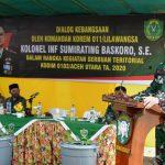 Danrem 011/LW Tinjau Lokasi Serbuan Teritorial Kodim 0103/Aut