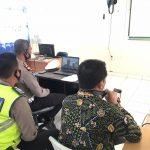 Satlantas Polres Abdya Sosialisasikan Tertib Lalulintas Via Daring