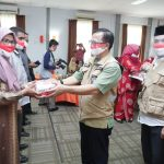 Disdik Aceh Salurkan Masker Vokasi Merah Putih ke SMK
