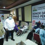Keluarga Besar Disdik se-Aceh Kumpulkan 362 Kantong Darah