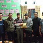 Aliansi Mahasiswa Gayo dan Mahasiswa Politeknik Aceh Banda Aceh Serahkan Bantuan Korban Kebakaran