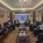 Bupati Aceh Jaya Audiensi dengan Mentan RI