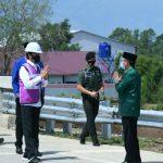 Presiden Apresiasi Pemerintah dan Masyarakat Aceh Besar atas Dukungan Pembebasan Lahan Tol Tercepat di Sumatera