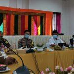 Bupati Aceh Besar Berharap Ulama dan Keuchik Sosialisasikan Bahaya Covid-19