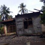 Rumah Milik Nelayan di Abdya Hangus Terbakar