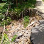 Badan Jalan Penghubung Desa Ambruk