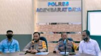 Polres Abdya Rilis Penanganan Kasus Dalam Tahun 2020