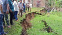 Mawardi Ali Kembali Tinjau Tanah Amblas di Lamklieng
