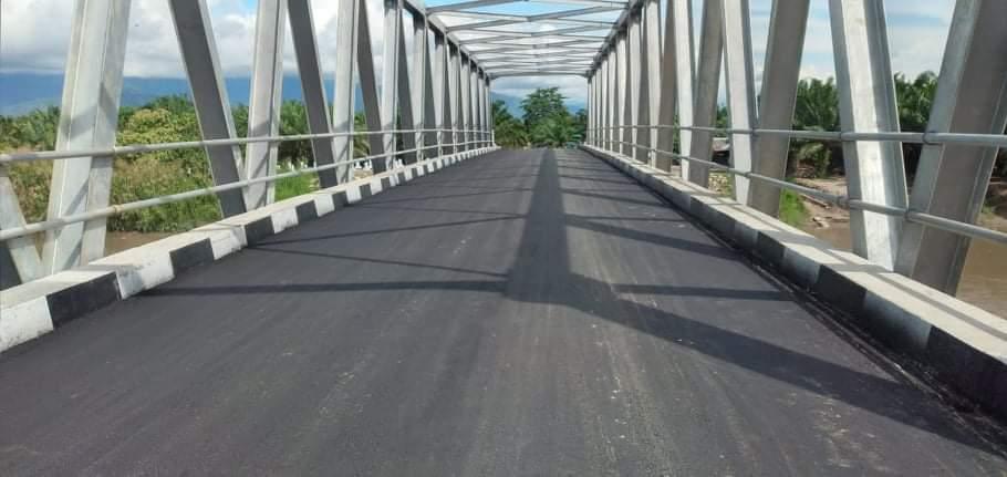 Lama Dinantikan, Jembatan Krueng Teukuh Mulai Difungsikan